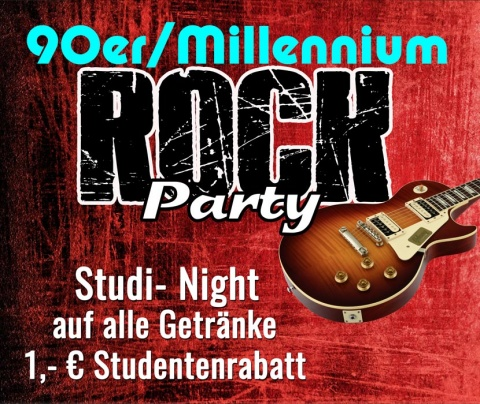 90er/Millennium Rock Party